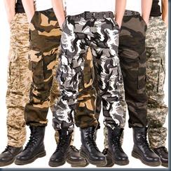джинсы милитари