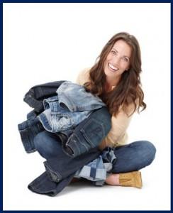 продать джинсы