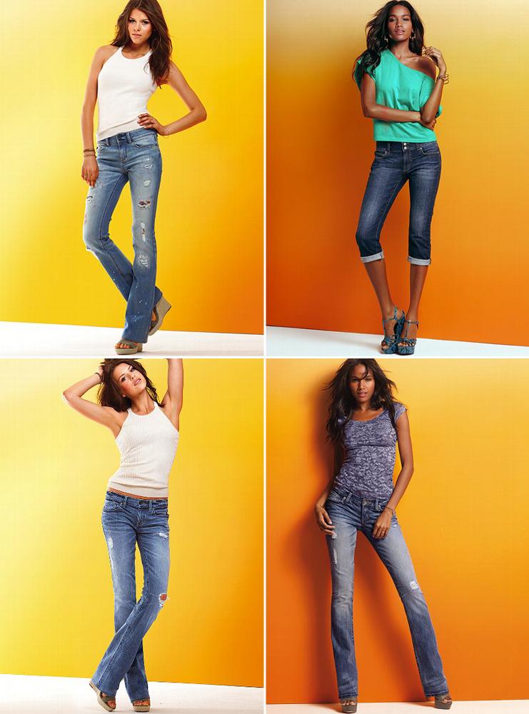 джинсы виктория сикрет