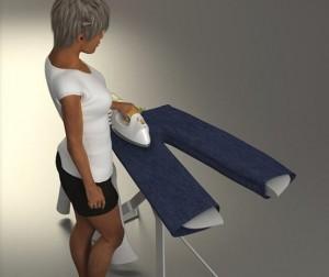 доска для гладжки джинсовё