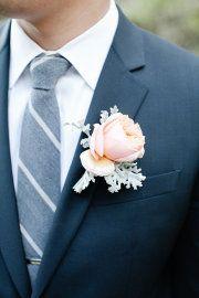 Джинсовый галстук на свадьбе