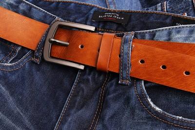 Мужские ремни в джинсы ремень приводной кожаный для швейной машины купить